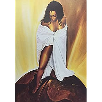 Amazon.com: Unframed Power Of Woman 5x7 inches WAK - African ...