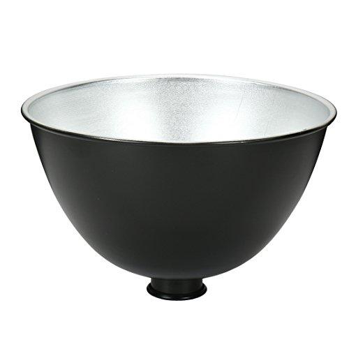 uxcell Reflector Diffuser Lamp Shade Dish for Photography Studio Strobe Flash Light(E27 Light)