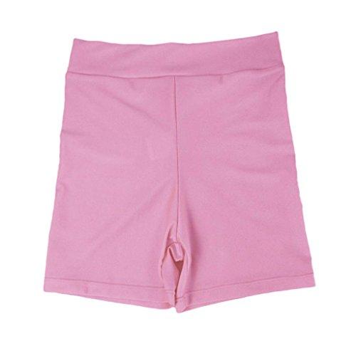 Palestra Spandex Leggings Di non Ragazze Donne Rosa Corti brand pantaloni Sharplace Pantaloncini Della PPTz8n6p