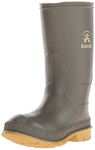 Kamik Green (Kamik STOMP/YOUTH/PUR/6149 Rain Boot Olive, 11 M US Little Kid)
