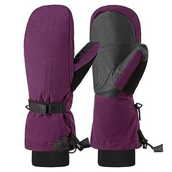 Amazon.com : Andake Ski Mittens Gloves Women Down Mittens