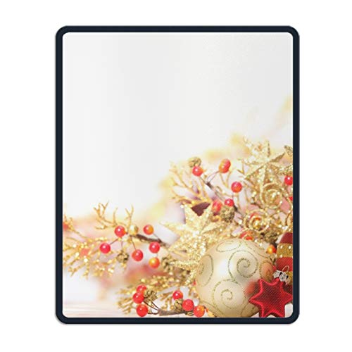 Holiday Christmas Ornaments Gaming Mouse Pad - 11.8 x 9.8 inch -