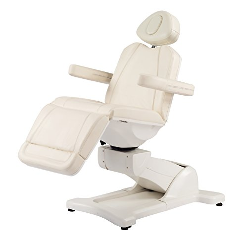 Elite Electric Table/ Chair/Bed with 4 motors(Rotates 270 degrees both sides) (White)