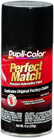 Dupli-Color BUN0100 Universal Gloss Black Perfect Match Automotive Paint - 8 oz. Aerosol - 1968 Mercury Comet