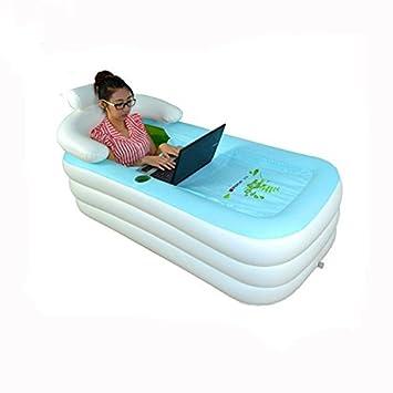 Adult ZQQ cama hinchable acolchada para bañera, la sauna ...