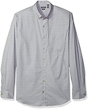 Van Heusen Men's Slim Fit Flex Button Down Long Sleeve Stretch Solid Shirt