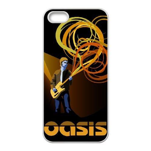 Oasis 003 coque iPhone 4 4S Housse Blanc téléphone portable couverture de cas coque EOKXLKNBC19084