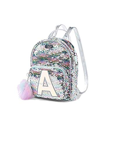 Amazon.com | Justice Pastel Flip Sequin Small Mini Backpack Initial (Letter K) | Casual Daypacks