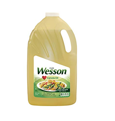 - PACK OF 6 - Wesson Pure Canola Oil, 1 Gal