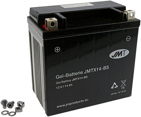 Batterie JMT GEL – YTX14-BS 12 Volt – Kawasaki VN 800 C Drifter VN800CC Bj. 1999-2000 [ inkl.7.50 EUR Batteriepfand ]