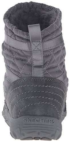 Scaffale Reggae Fest femminile Steady Quilted Bunny Bootie, Carbone