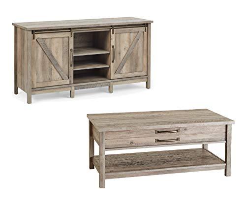 Farmhouse Lift Top Coffee Table.Amazon Com Better Homes Gardens Modern Farmhouse Tv Stand Rustic
