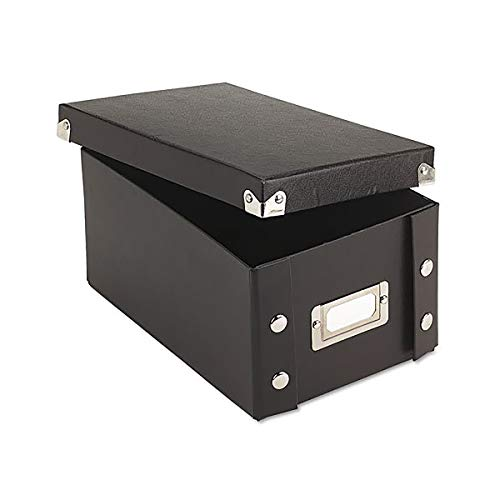 Snap-N-Store Durable Collapsible Index Card File, Fits 1100 4 x 6 Inch Index Cards (SNS01577) (Recipe Cards File)