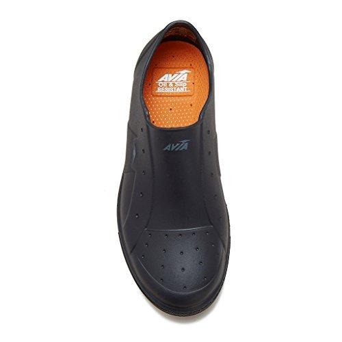 Avia Unisex Avia-Trivet Oil & Slip-Resistant Black Shoe 8 M by Avia