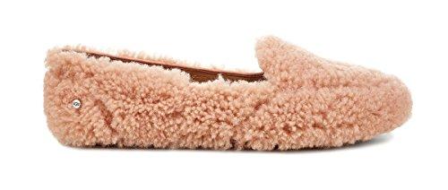 UGG Women's Hailey Fluff Loafer Suntan 8 B US B (M)