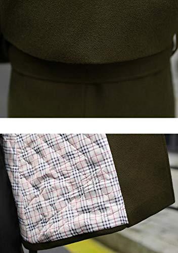 Abrigo invierno oto o de lana chaqueta algod e de de Oxw6HrnFO