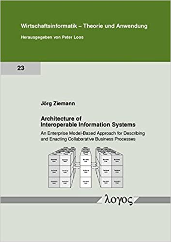 Architecture of Interoperable Information Systems: an Enterprise Model-Based Approach for Describing and Enacting Collaborative Business Processes (Wirtschaftsinformatik - Theorie und Anwendung)