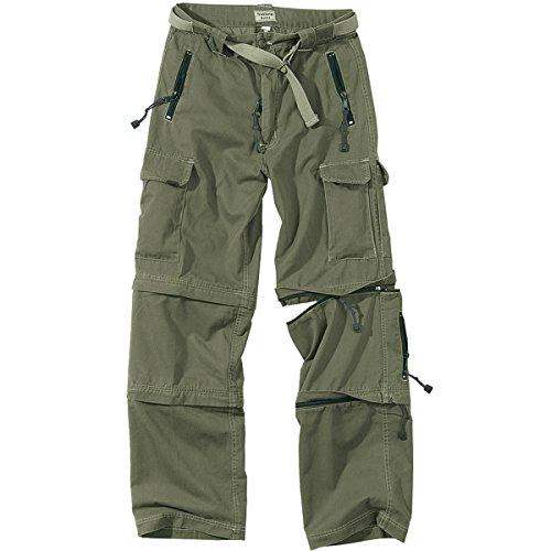 Zip Off Pants Olive - 7