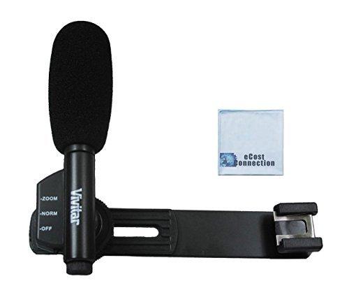 vivitar directional condenser shotgun microphone