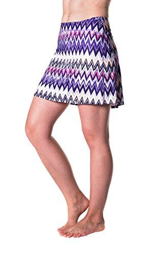 Skirt Sports Women's Happy Girl Skirt, Sidewinder Print, X-Large