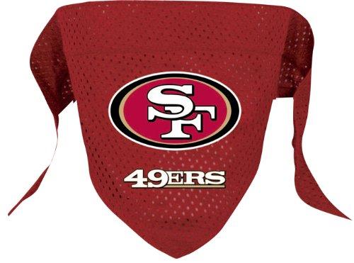 Hunter MFG San Francisco 49ers Mesh Dog Bandana, Large, My Pet Supplies