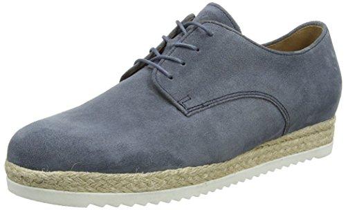 Gabor Signore Della Moda Lace Up Brogue, Blu Blu (jeans 16)