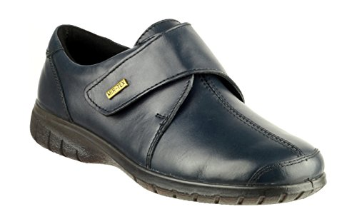 Cotswold girls Cotswold Ladies Cranham Touch Fastening Leather Waterproof Shoe Navy Navy Leather UK Size 8 (EU 42) by Cotswold