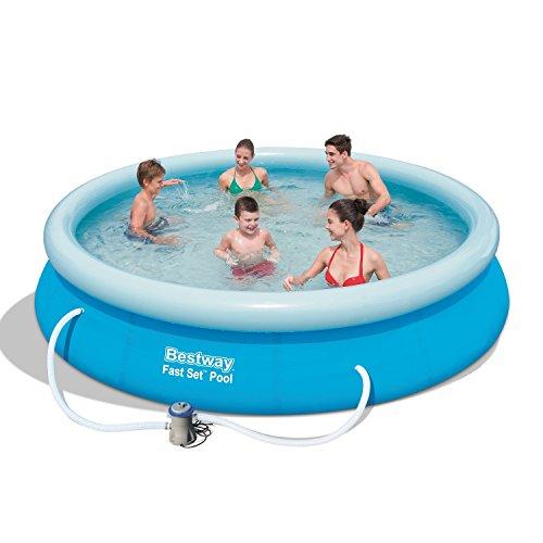 Bestway 30.48cm x 76.2cm Inflatable Fast Set Pool by Bestway