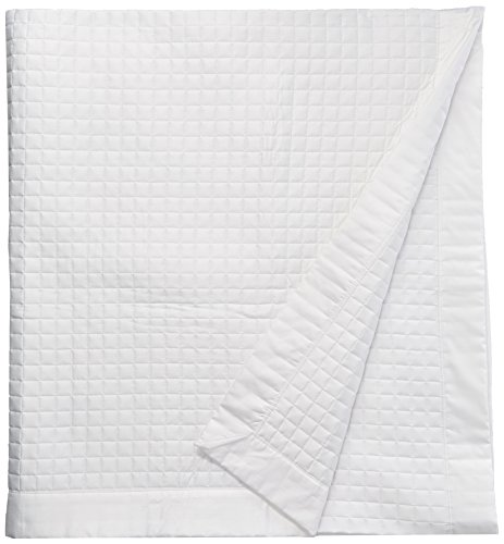 Belle Epoque 420-Thread Count Quilted Coverlet, King, White