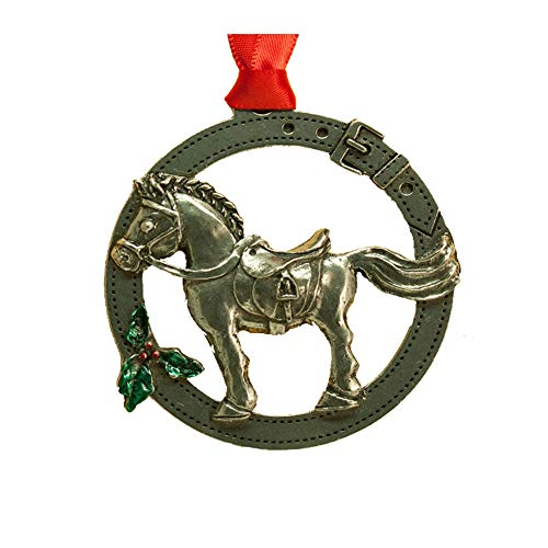 Designs by Loriece Giddy UP Horse Ornament