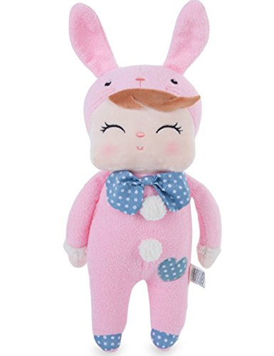 Metoo Cute Cartoon Animal Design Stuffed Babies Plush Toy Doll for Kids Birthday / Christmas Gift (Type C)