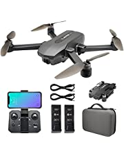 $299 » Riison GPS 4K UHD Drone with 130°FOV Camera Camera for Adults , 5Ghz FPV Transmission, Brushless Motor, Auto Return Home, Follow Me, Tap Fly, Auto Hover, Foldable RC Quadcopter with Carry Case