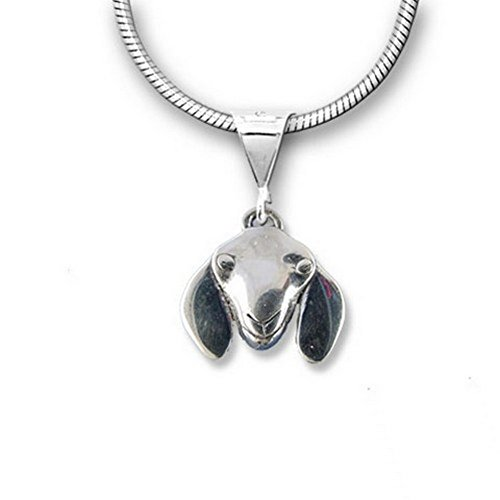 - The Magic Zoo Sterling Silver Nubian Goat Pendant
