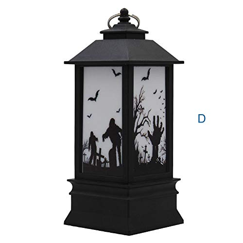 - Sayolala Outdoor Patio Lights 2 pcs Halloween Candle with LED Tea Light Candles for Halloween Decoration Part