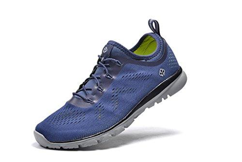 Senximaoyi Ademend Absorberend Outdoor Vrije Tijd Bergbeklimmen Jogging Schoenen Sportschoenen, Blauw, 8