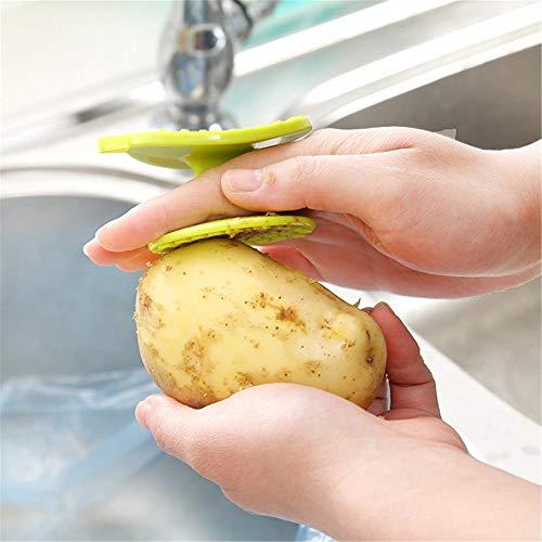 Metropoliten Multifunction Kitchen Vegetable Brush Potato Scrubber Easy to Clean Tool