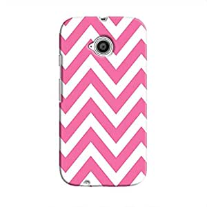 Cover It Up Bubblegum Strip Hard Case For Moto e2