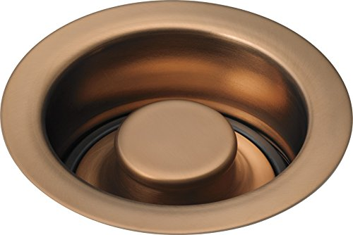 Delta Faucet 72030-BZ Kitchen Disposal & Flange Stopper, Brilliance Brushed Bronze (Flange Delta Traditional Shower)