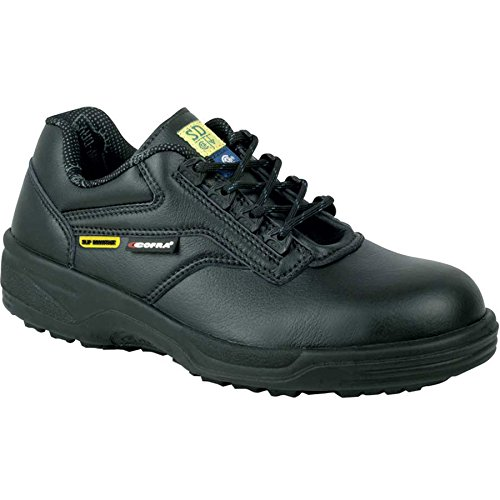 Cofra 76460-CU0.W08, 5 Analyst SD+ Safety Shoes, 8.5, Black