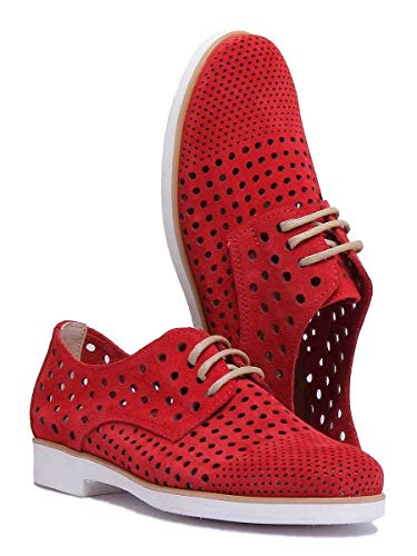 Chelsea Reece donna rosso Boots da cd94 xb 4200 Justin ngqBpSw