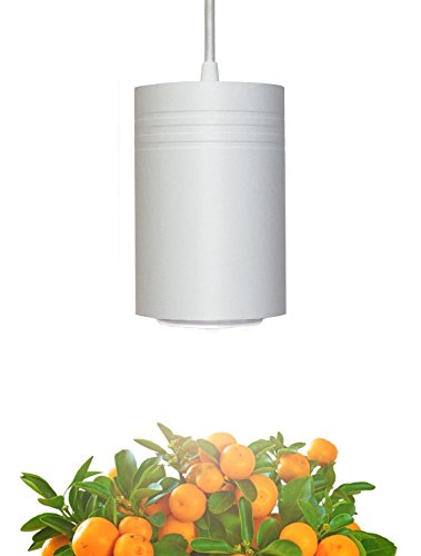 Matte White Aspect 40W Luxury LED Grow Light - Bring Nature Indoors with The Plant Light Used by Interior Designers, Growers & People Like You! for Medium and Large Plants