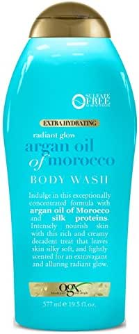Ogx Body Wash Argan Oil Of Morocco 19.5 Ounce (577ml) (2 Pack)