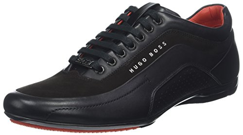 cheap price free shipping BOSS Men's Hb Racing Low-Top Sneakers Black (Schwarz 001) hot sale online new sale online brand new unisex 100% guaranteed cheap online mwosx2vjX