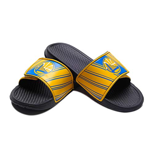 Forever Collectibles NBA Team Logo Mens Legacy Sport Slide Flip Flop Sandals – DiZiSports Store