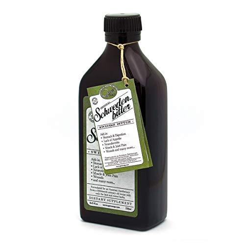 Original Austrian Swedish Bitters Extract (Schwedenbitter) 8.45 fl.oz