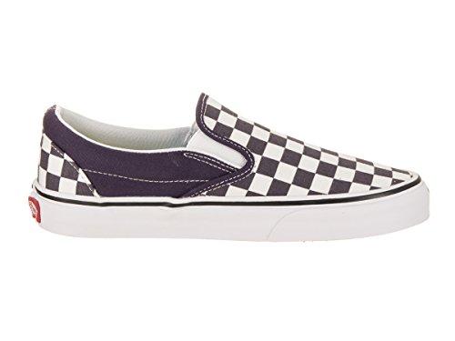 Vans Classic Slip-On (Checkerboard) Nachtschatten / True White