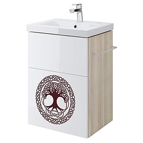 A4 size blanc Pochoir en PVC r/éutilisable 210 x 297 mm Arbre de vie celtique Mandala r/éutilisable Pochoir A3/A4/A5/et plus grandes tailles D/écoration murale//M7 8.3 x 11.7 in
