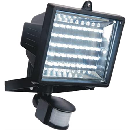Led low energy flood light with pir sensor black diecast aluminium led low energy flood light with pir sensor black diecast aluminium body ip44 rated aloadofball Choice Image