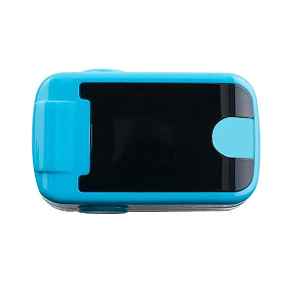 Carejoy Color OLED oximetro de Pulso de Dedo con Alarma Audio y Sonido del Pulso-SPO2Monitor Fingerpulsoximeter Pulsoximeter Pulsioxímetro Saturimetro Ossimetro 3