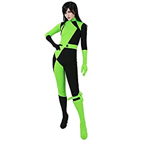 Women's Shego Jumpsuit Cosplay Costume 41a5InXjQIL